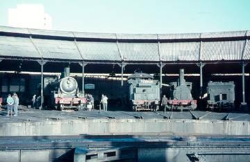 Deposito de Málaga, octubre de 1966, foto :