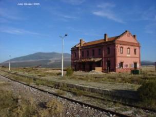 Estación de Olvega, foto: Julio Gómez