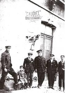 Personal de la estacion de Caudiel (Castellon)
