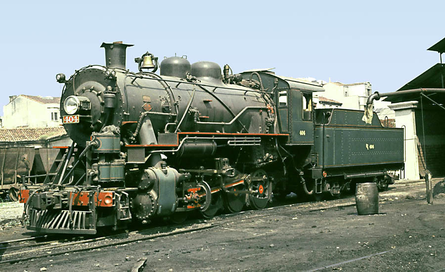 Locomotora Baldwin rodaje 140