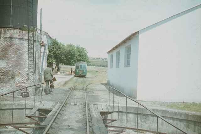 Estacion de Almorox, mayo de 1964,
