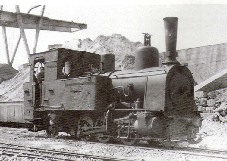"Locomotora nº 4 Jung ""Guadiamar"", foto Trevor Rowe"