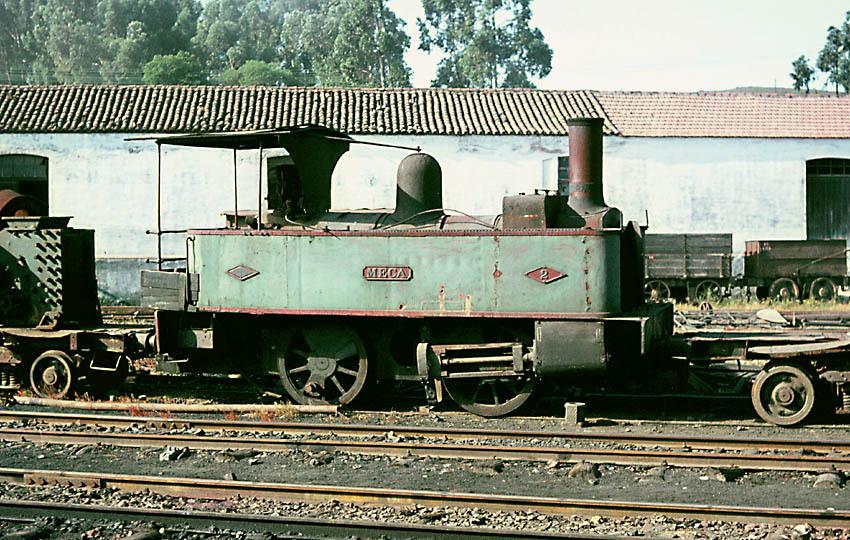 "Locomotora nº 2 ""Meca"" Dübs,"