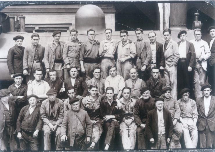 obreros de la Diputacion de Vizcaya,