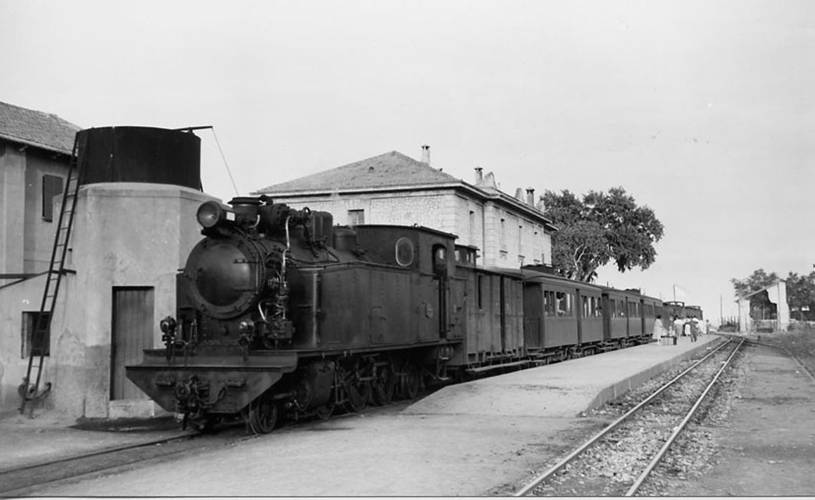 Estacion de Inca , año 1957