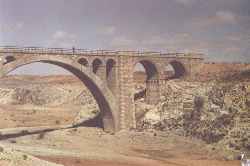 Viaducto de Alfambra, foto : Juan Manero