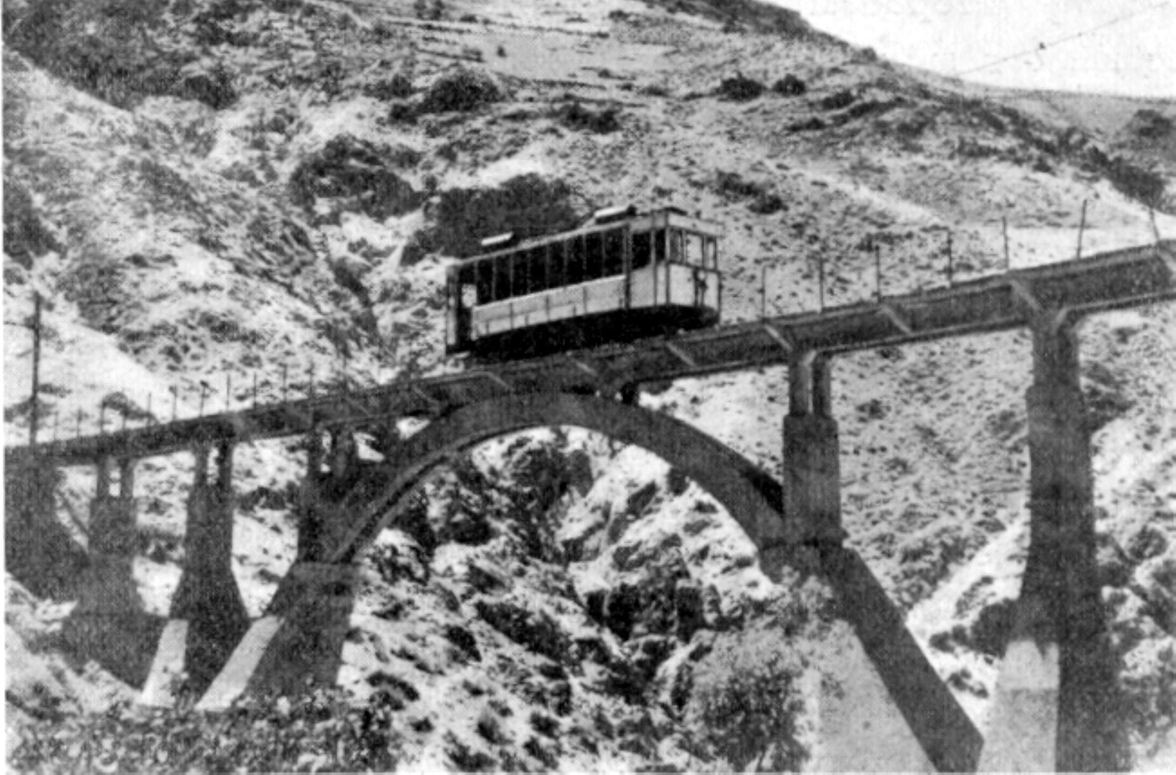 Viaducto, linea de Granada al Charcon