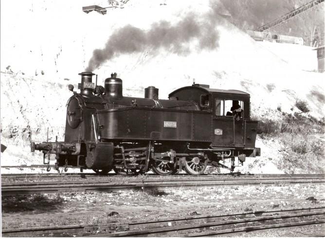 Locomotora nº 9 , Foto del Rio