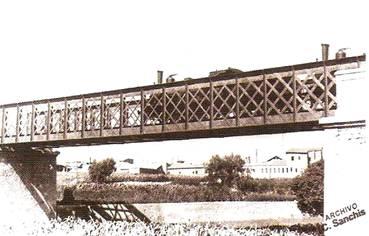 """El pont de """"ferro"""" de Manises"""