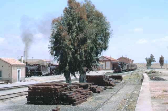 Almendricos, panoramica de la estación