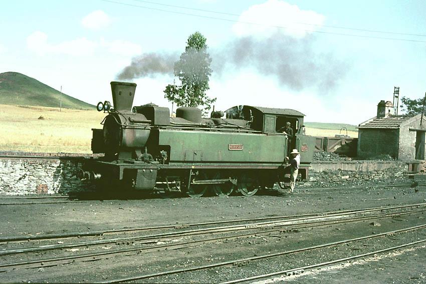 Locomotora nº 48 , Morante , rodaje 040T,