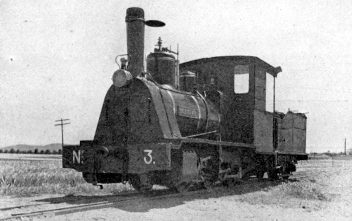 "Locomotora nº 3 ""Belgica"","