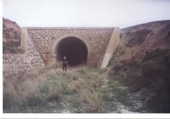 Tunel de la Cañada de Velilla, foto Juan Manero