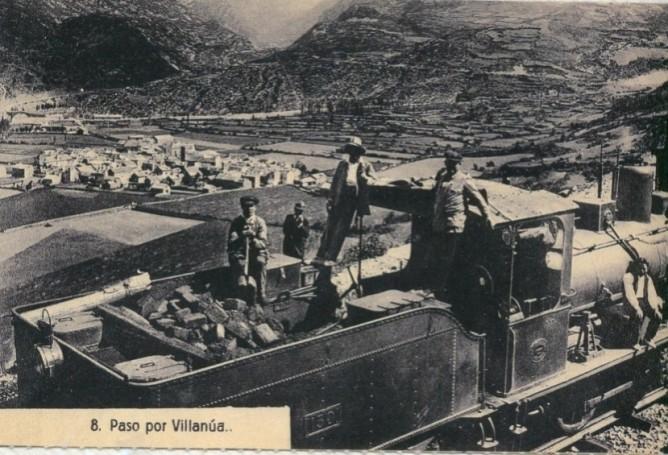 Villanua, postal comercial, fondo: Juan Manero