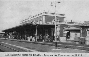 Estacion de Valdepeñas, Gentileza de Javier Ivan Herrera