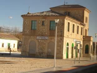 Estacion de Camporrobles, Diciembre 2010, foto: Juan Peris Torner