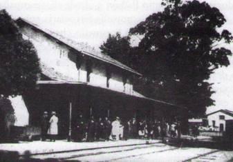 Estacion de Carril-Villagarcía, fondo Buxa