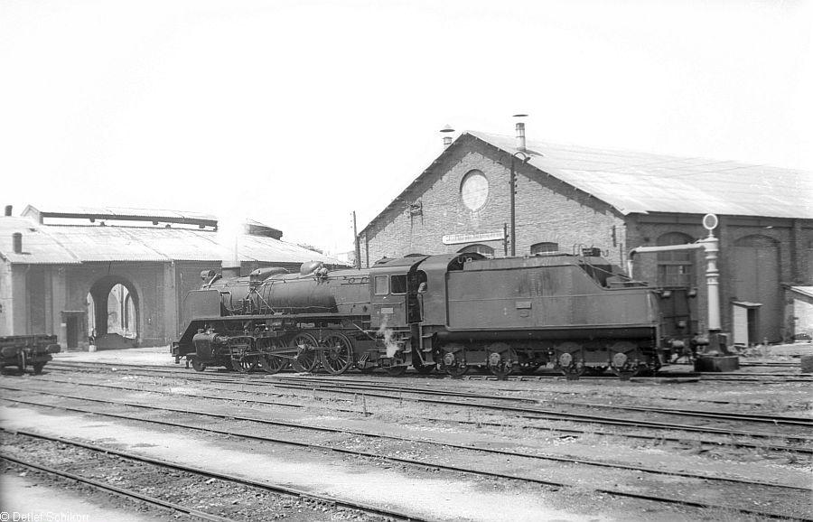 Pamplona, deposito de locomotoras