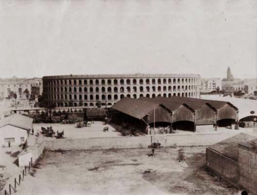 almacenes de la primitiva estación del AVT en Valencia