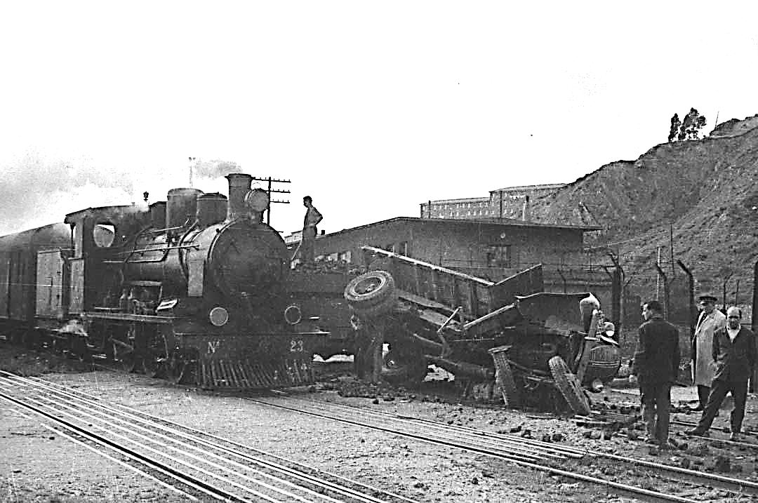 Accidente de la locomotora nº 23