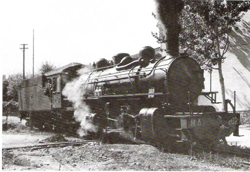 locomotora Mallet , Foto: Trevor Rowe