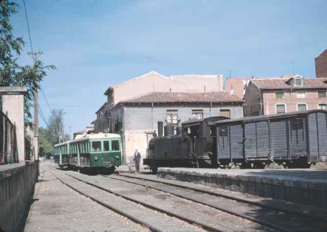 Estacion de Valladolid, mayo de 1965,