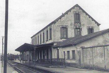 Estacion de Ferrol, año 1960, fondo Buxa