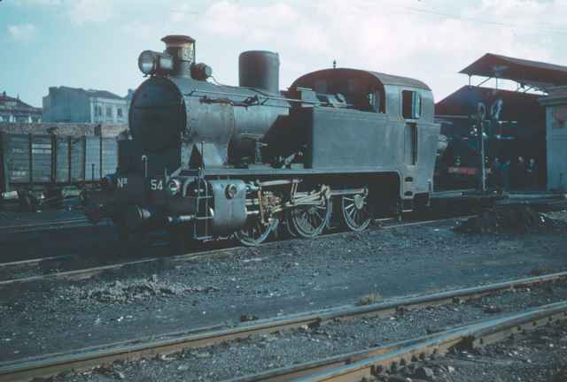 Locomotora nº 54