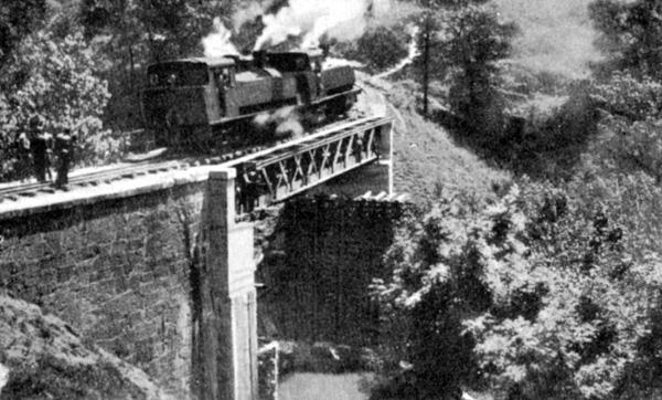Pruebas de carga del Puente del Mercadillo