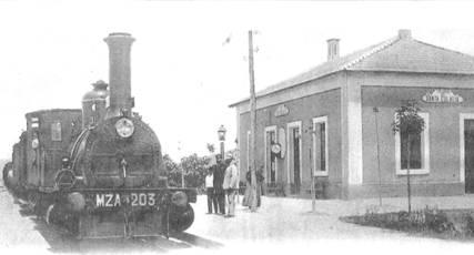 Linea de Alicante, estacion de Santa Eulalia