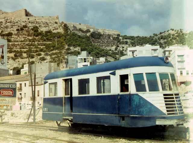 Alicante a Denia, Feve , Automotor