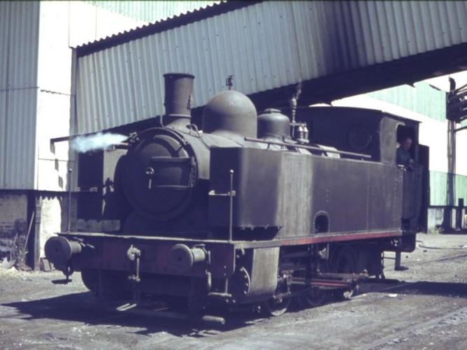 Cargadero de El Porvenir , Locomotora 030T