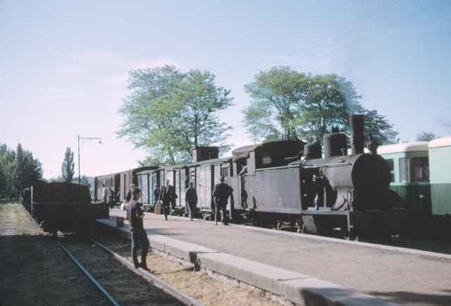 Estacion de Palencia, mayo 1965,