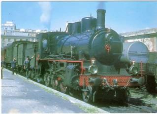Estacion de Reus, locomotora