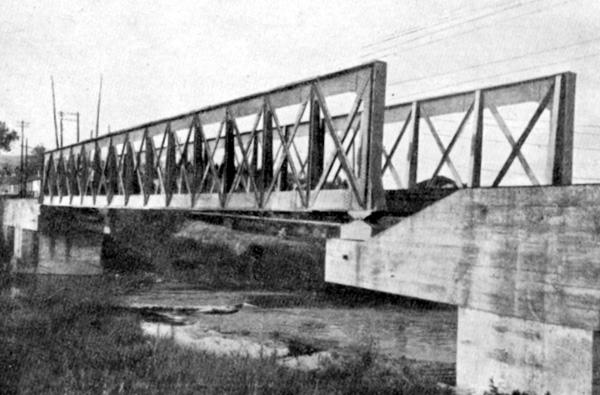 Puente recuperado sobre el Ibaizabal