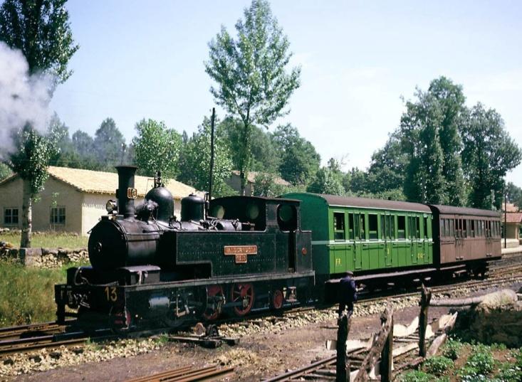 "Locomotora nº 13 ""Valderueda"""