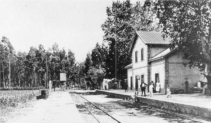 Estacion de Torre del Mar , año 1940