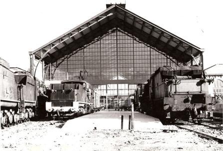Madrid Delicias, en funciones de Museo Nacional Ferroviario, Foto del Rio