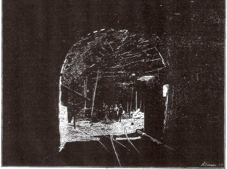 Boca de lalida del Túnel de Tossas