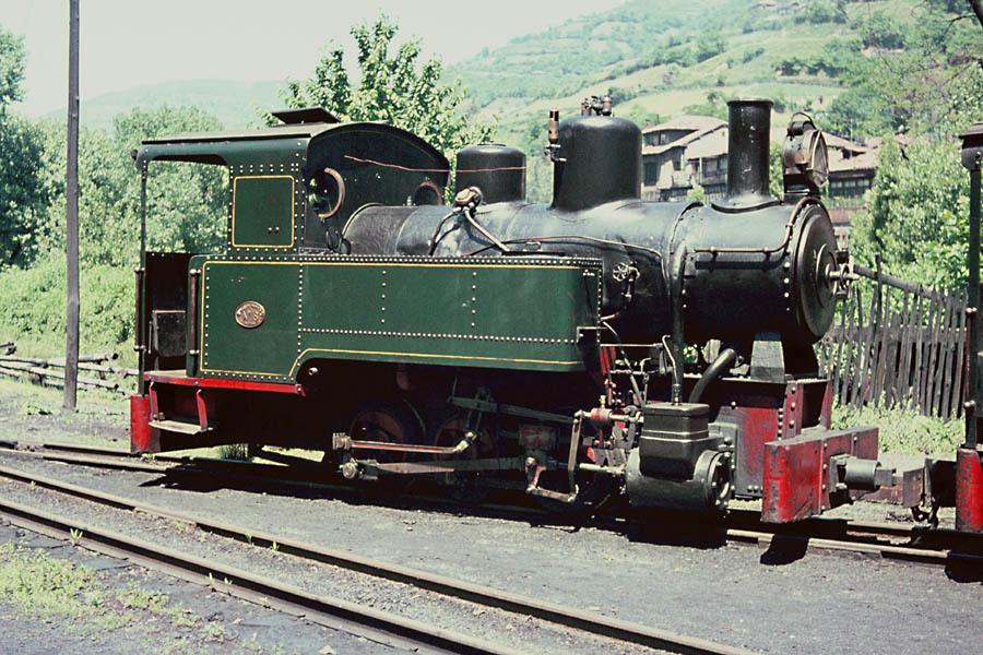 Locomotora HT-18, Hulleras de Turon