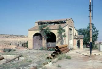 Deposito de la reserva de Belchite,