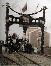 Tren inaugural de la línea