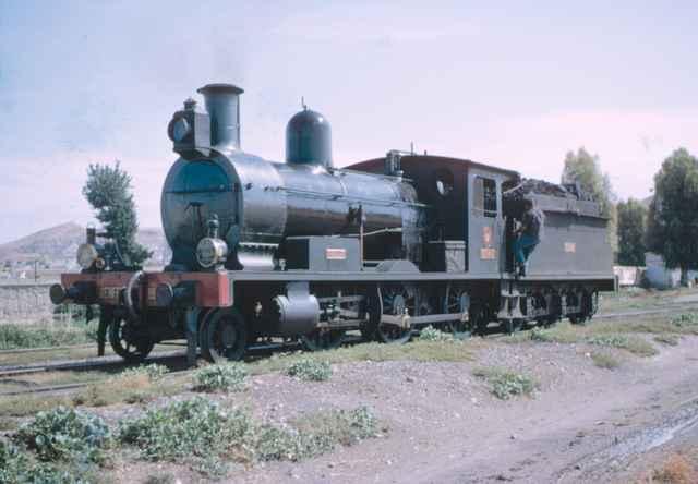 Lorca, locomotora