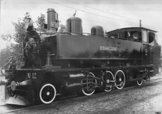 """Locomotora 112 , """"Ricardo Lozano"""", Krayss 131T, Fondo : Juan Manero"""