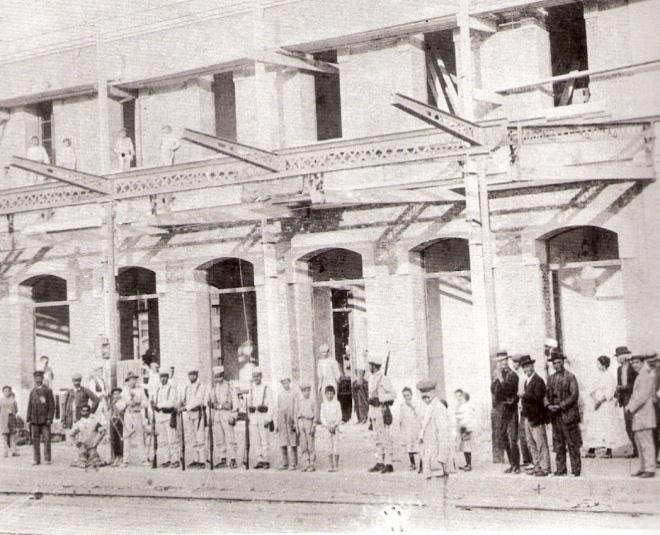 Construcción de la estación de Carcagente