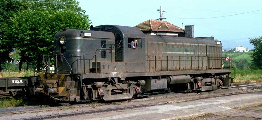 Locomotora Alco