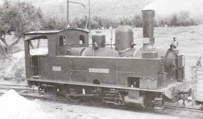 Locomotora nº 4 en Puertollano