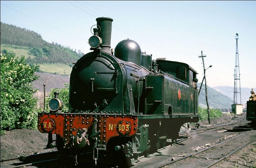 Locomotora 103, rodaje 141T, Saint Leonard , junio 1964,