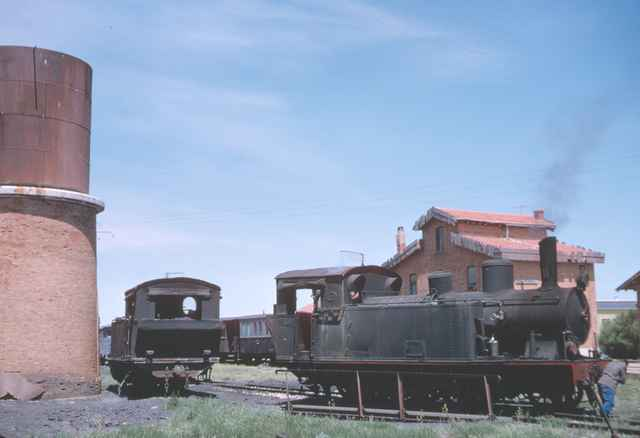 Placa giratoria de Medina de Rioseco , mayo 1965