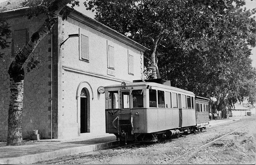 Estacion de Felanitx, año 1960,